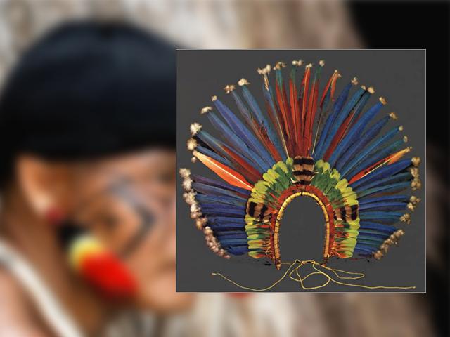 Índio é multado por fazer e vender artesanatos com penas de aves
