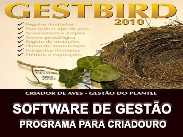 Software de Gestão de Criadouros de Pássaros