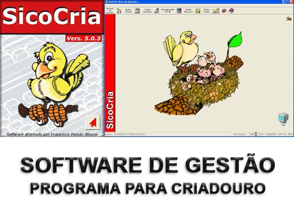 Sico Cria - Software de Gestão de Criadouros de Pássaros
